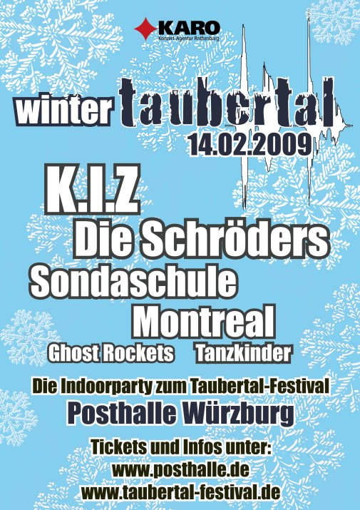Plakat Winter-Taubertal 2009